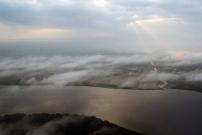 New River Lagoon seen by ultralight